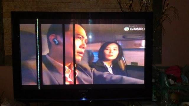 Hình ảnh 1:  Tivi bị lỗi kẻ sọc kẻ ngang