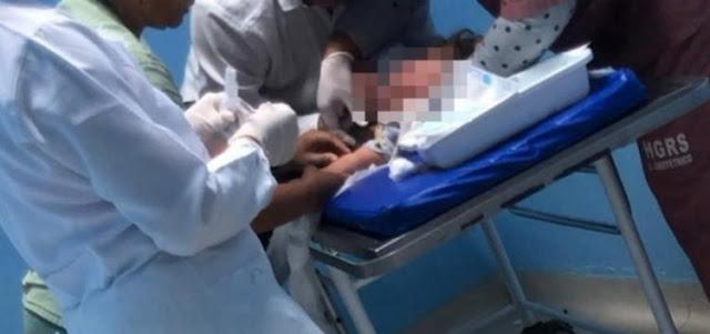 crianca cocaina hospital roberto santos salvador - Criança dá entrada em hospital de Salvador com suspeita de ter ingerido cocaína.