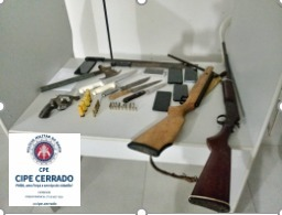 Homens armados são localizados e presos na zona Rural de Angical no Oeste da Bahia