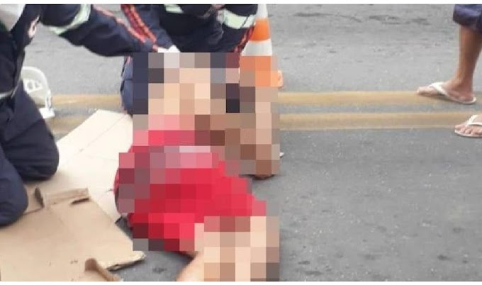 Homem sofre acidente na BR 405 em Apodi
