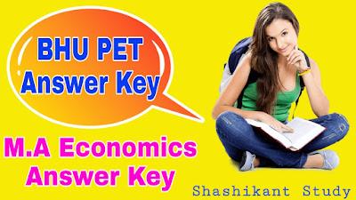 BHU-M.A-Economics-answer-key