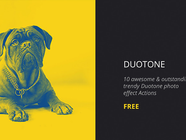 Download Duotone Photoshop Actions Free