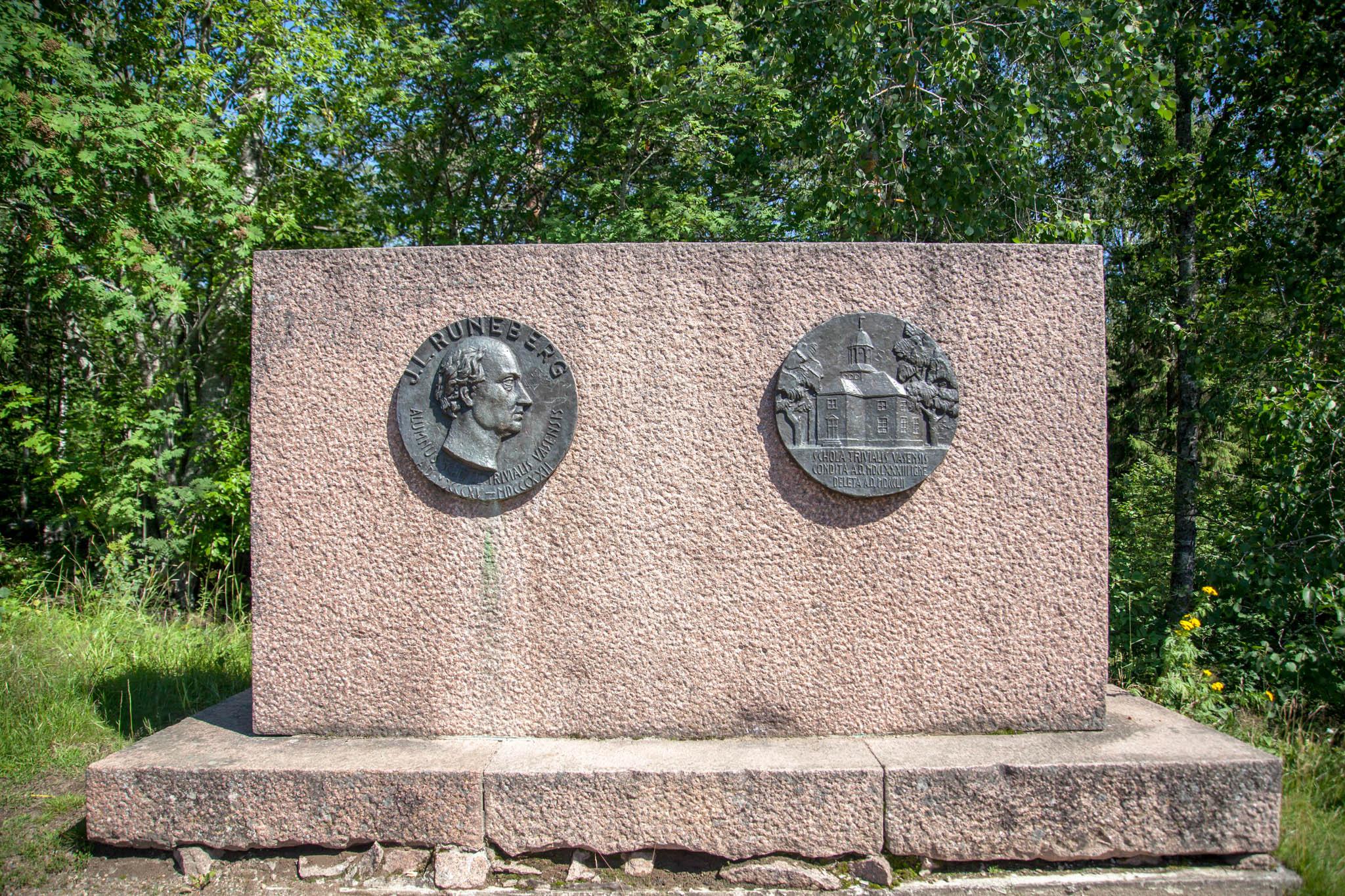 J.L Runeberg vanha Vaasa Triviaalikoulu