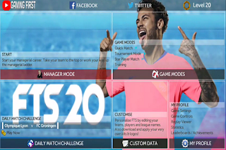 FTS 20 Neymar Update Transfer 2020 HD