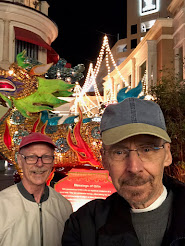 Pat and Ron at The Grove, LA