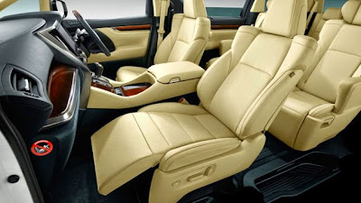new alphard cabin