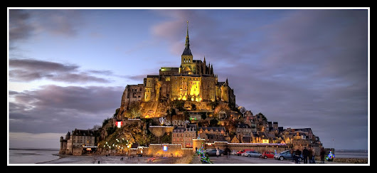 """Minunea occidentului""- Mont Saint-Michel"