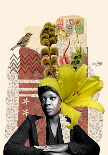 Colagem Viola Davis por Maria Rosa