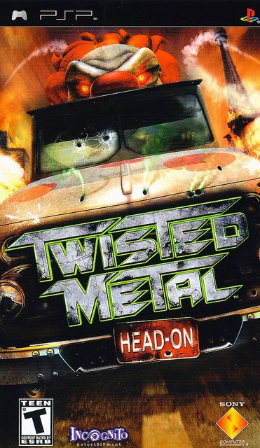 Twisted Metal Head On PSP free download full version