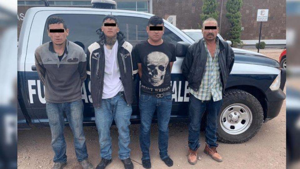 Caen 4 Sicarios de la Gente Nueva fuertemente armados en Cuauhtémoc, Chihuahua