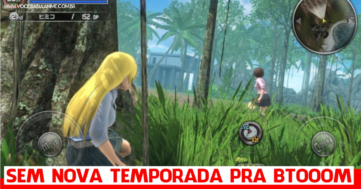 Game de Btooom falha lindo no ranking do Japão