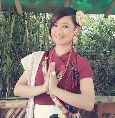 Beautiful CUte Melina Rai Nepali Singer Actress