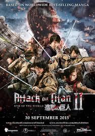 Download Film Attack On Titan : Part 2 (2015) Subtitle Indonesia Full Movie