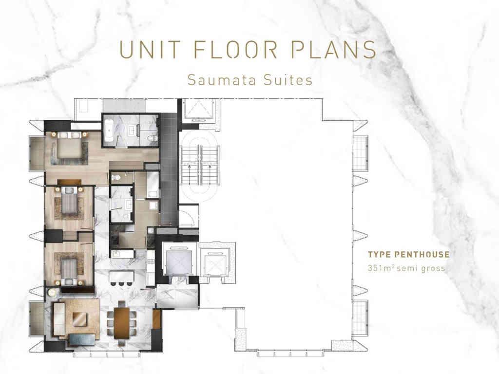 Saumata Suites Tipe Penthouse