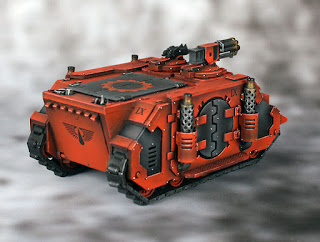 Forge World Deimos Pattern Rhino w/ Assault Cannon - Horus Heresy (30K) Blood Angels