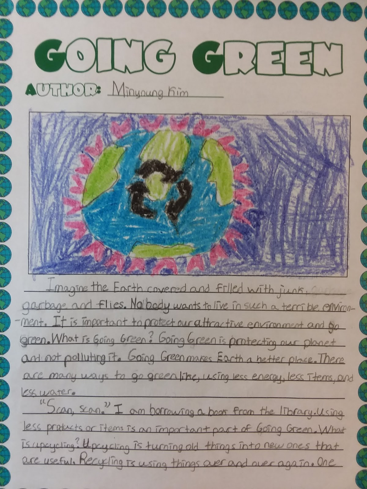 Go Green Essay in English for Students Words