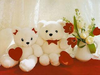 Boneka beruang love 32