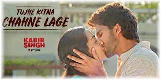 Tujhe Kitna Chahne Lage Lyrics | Arijit Sing | Kabir Singh Movie