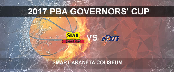 List of PBA Game(s) Thursday October 5, 2017 @ Smart Araneta Coliseum