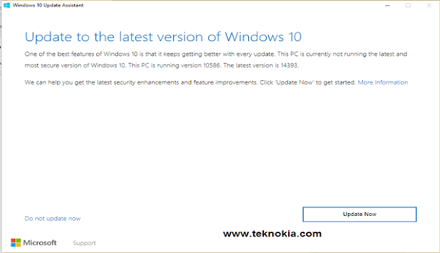Microsoft officially released an update for windows 10 desktop. Precisely August 2, 2016. The latest version marked one year of age windows 10. Therefore the update this time named anniversary update.