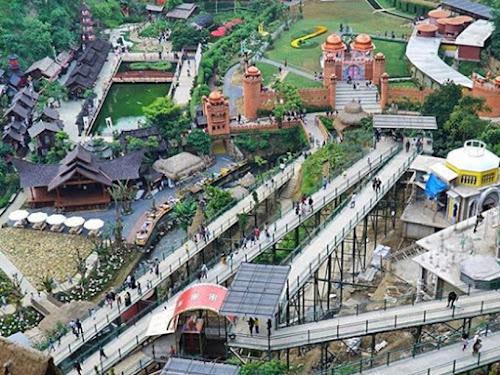 Wisata The Great Asia Africa di Lembang