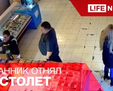 Un Russe ivre pensait ne pas avoir payé sa bière, il revient dans le dépanneur pour payer son dû mais le gérant lui assure qu'il a déjà payé.