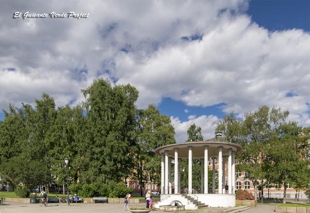 Birkelunden, Grünerløkka - Oslo por El Guisante Verde Project