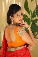 Lasya Cute Beauty in Saree Backless Choli at her Interview ~  Exclusive 228.JPG