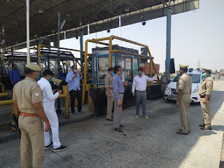v लॉकडाउन के दृष्टिगत आटा टोल टैक्स का स्थलीय निरीक्षण -जिलाधिकारी जालौन   Terrestrial inspection of flour toll tax in view of lockdown - District Magistrate Jalaun     संवाददाता, Journalist Anil Prabhakar.                 www.upviral24.in
