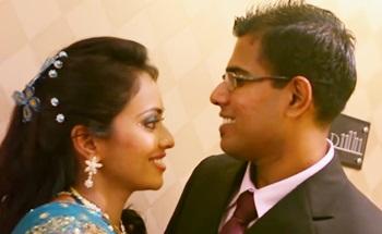 Dr. Kanesh & Dr. Padmini wedding reception