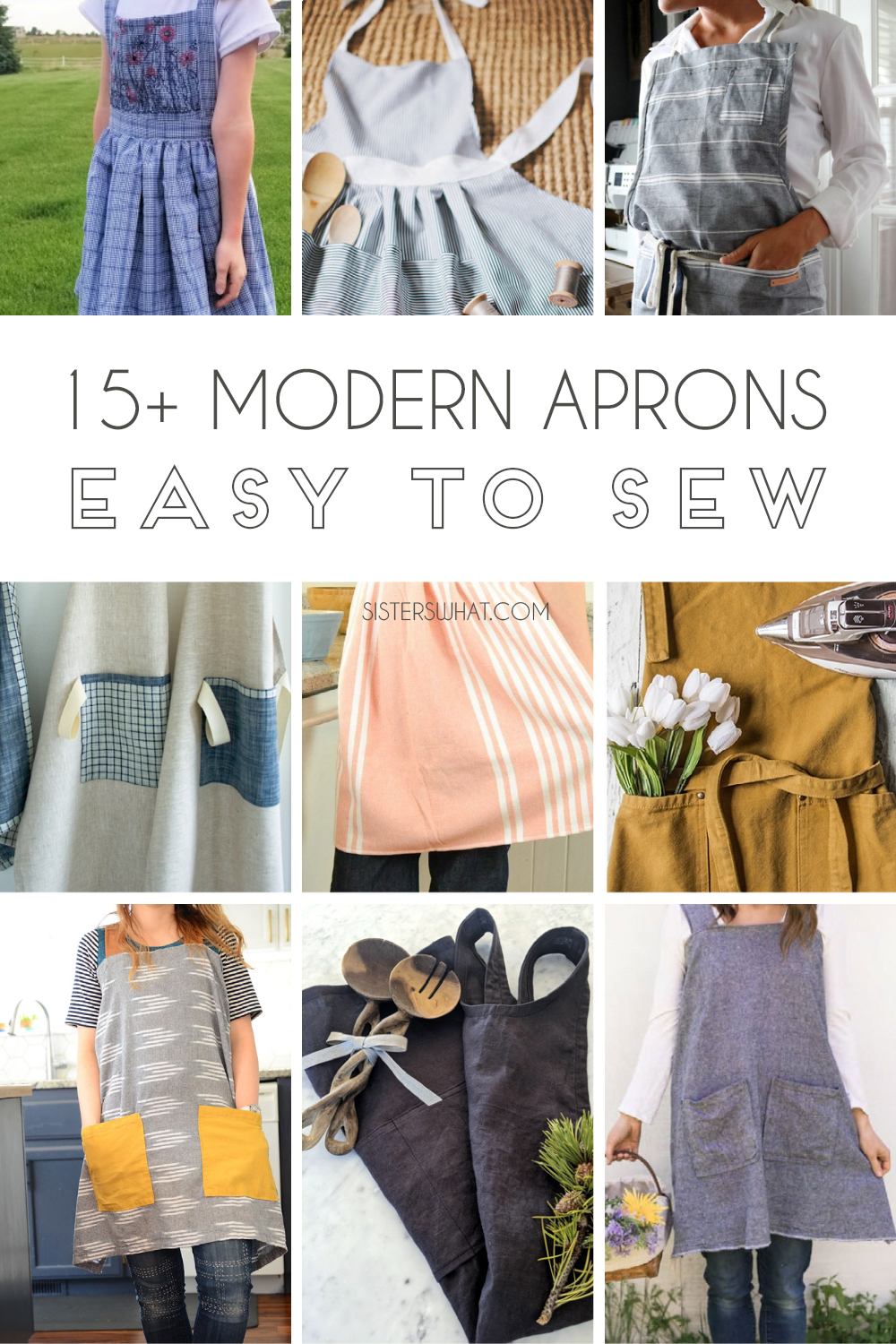 modern apron you can sew patterns