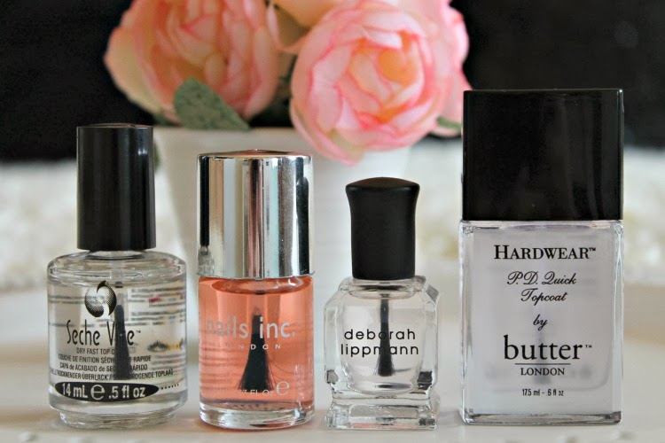 4 Of The Best Nail Polish Topcoats