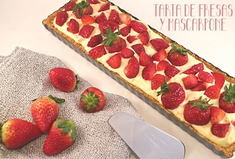 strawberry-mascarpone-tart, tarta-de-fresas-y-mascarpone