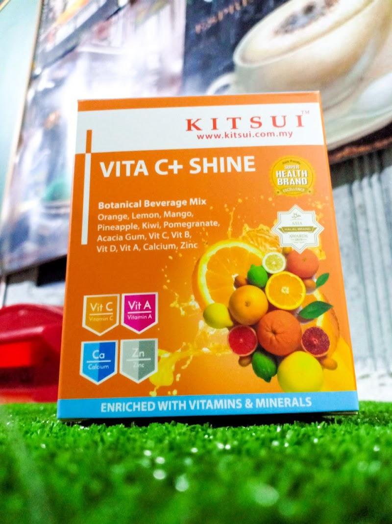 Lindungi Diri Dan Keluarga Dengan Kitsui Vita C+ Shine
