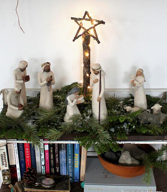 Make a Nativity Star