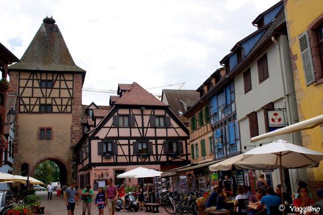 La Piazza e la porta di Turckheim
