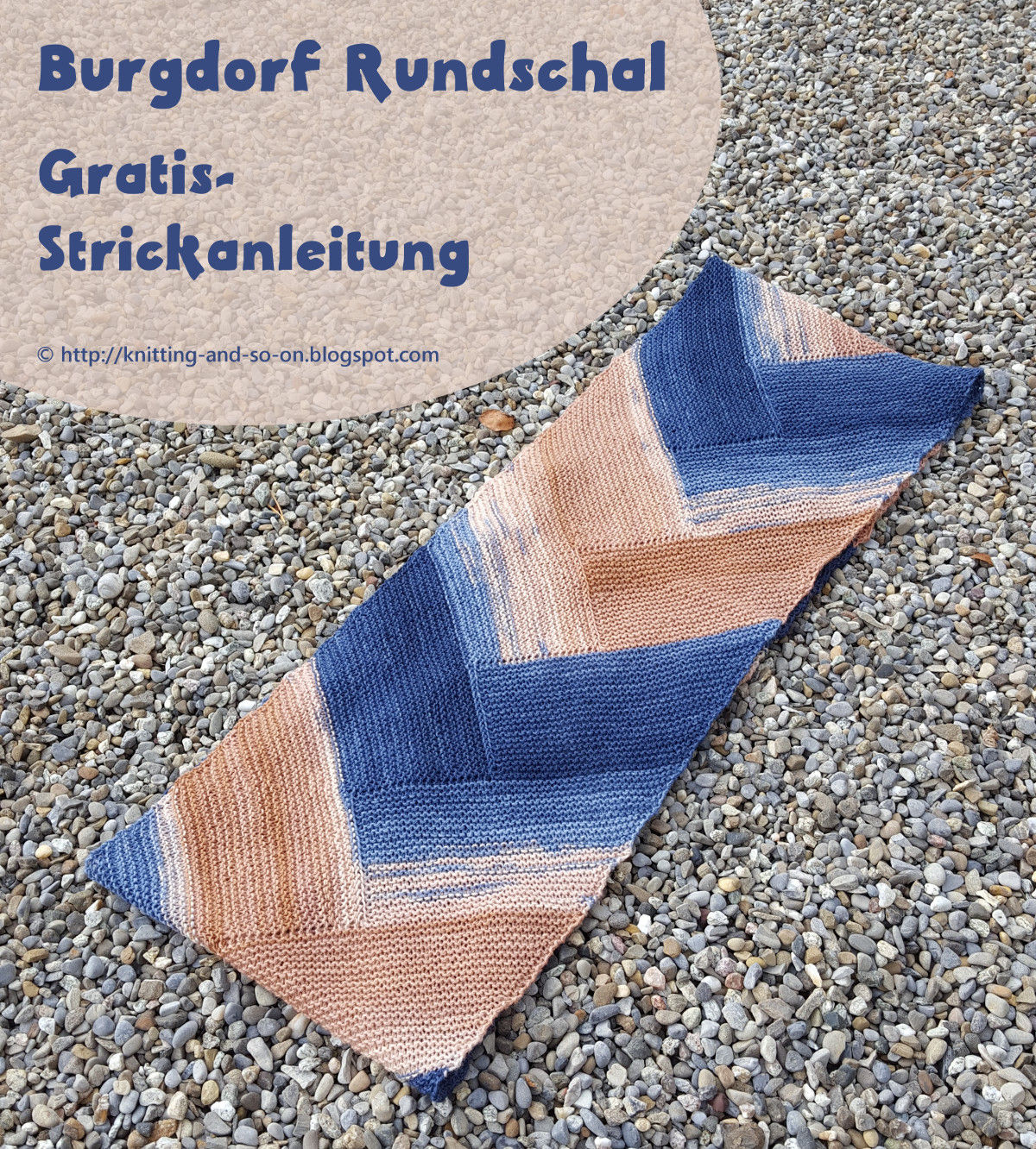 Knitting and so on: Burgdorf Rundschal