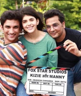 #Instamag-meet-crazies-of-kizie-aur-manny-sanjana-sanghi-and-sushant-singh-rajput