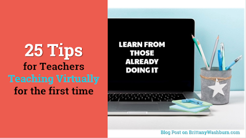 25 Virtual Teaching Tips from Teachers