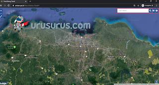 Tampilan Peta Bidang Secara Online