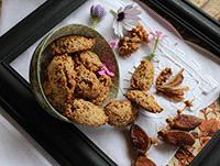 galletas De Nueces Y Dátiles, Sin Azúcar Y Sin Gluten