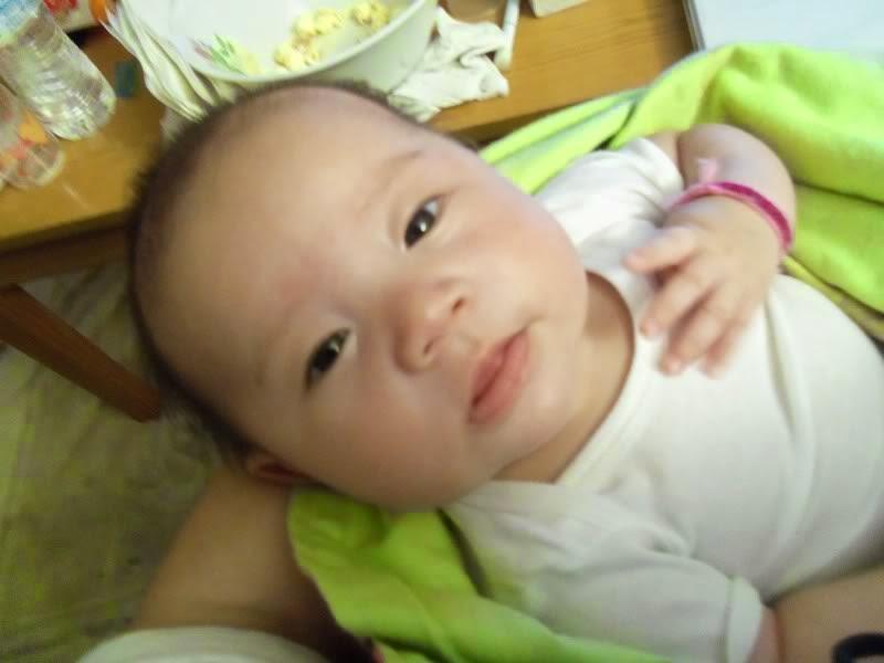 Gambar bayi ganteng dari korea lucu banget