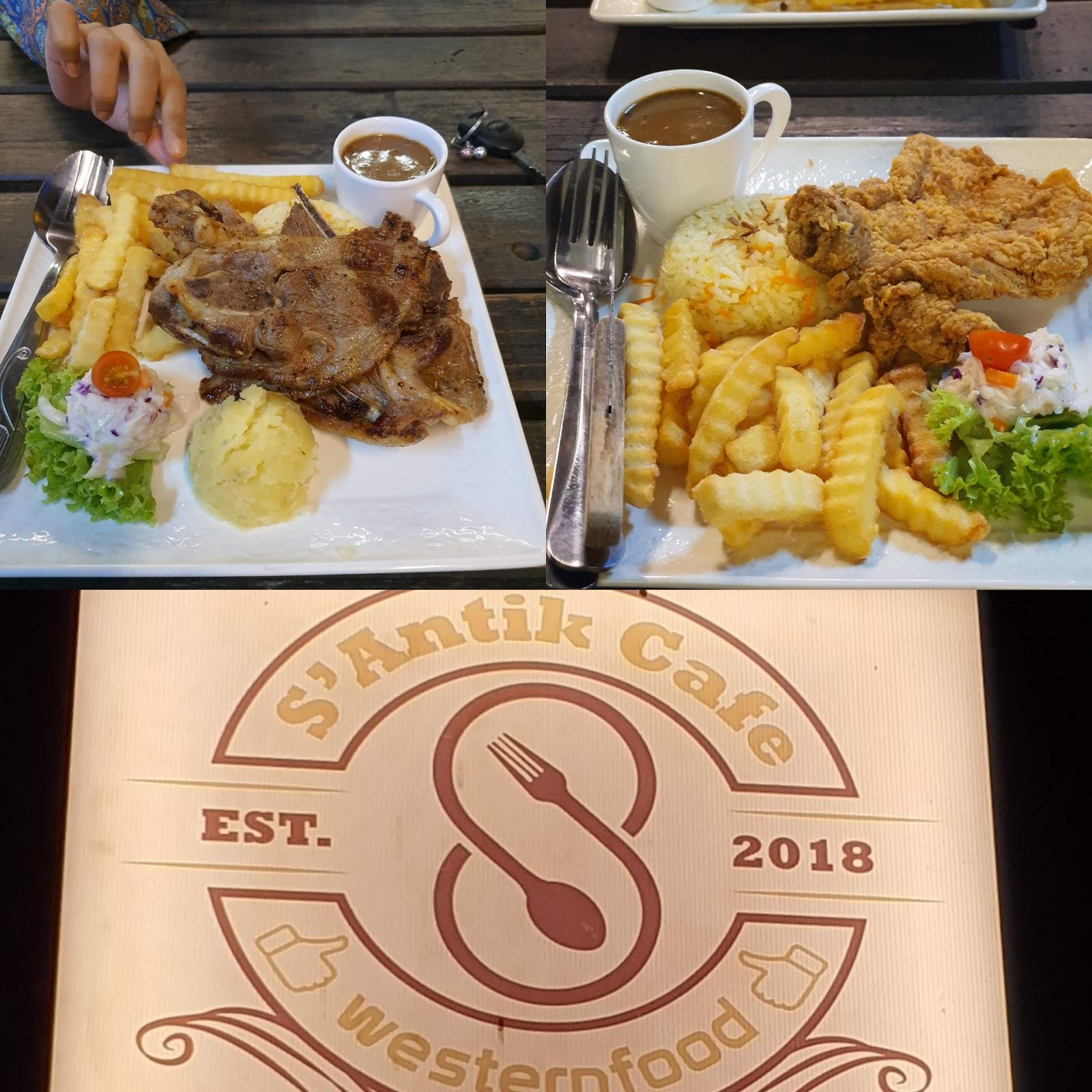 Tempat Makan Best Di Kulim | Restoran Makanan Western S'Antik Cafe