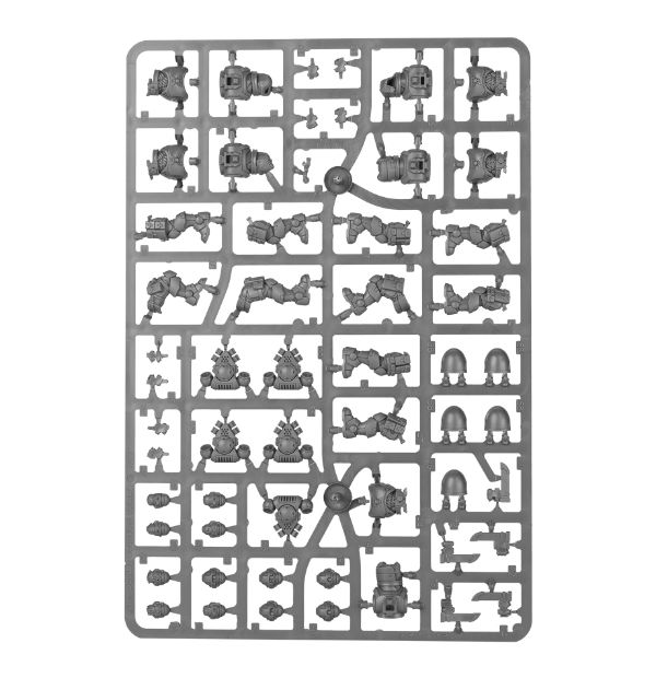 8th edition primaris space marine reivers review sprue