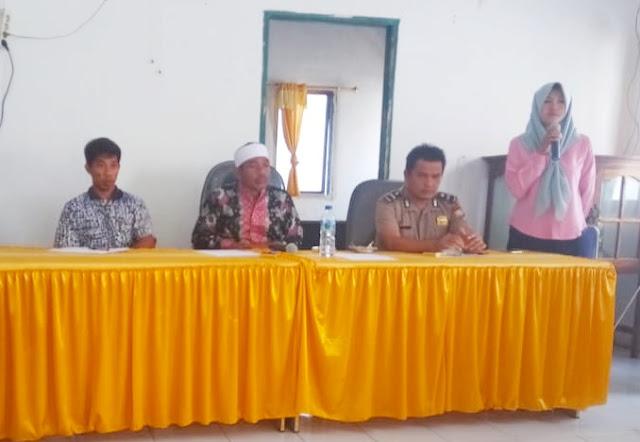 Musyawarah Desa Tarupa ,Tetapkan RKPDes 2020