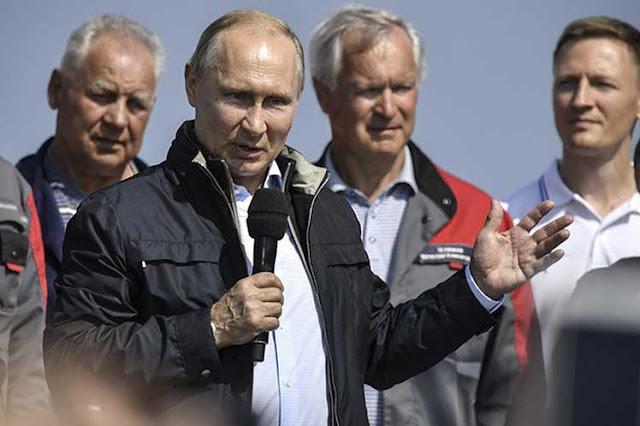 Putin inaugura Puente de Crimea y promete construcciones similares(+Fotos)(+Videos)