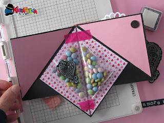Piramide Card di San Valentino Tutorial