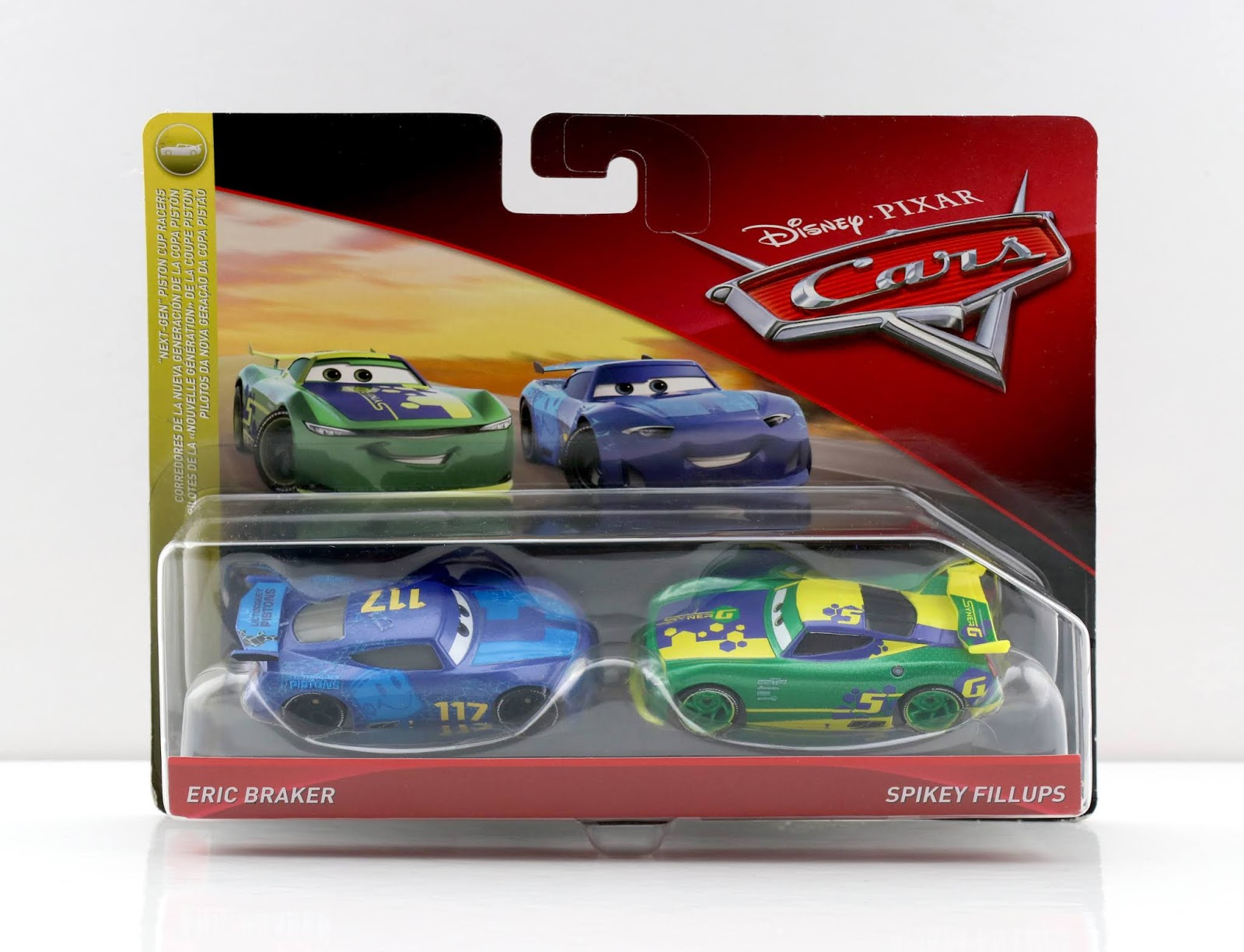 cars Eric Braker & Spikey Fillups 2-Pack