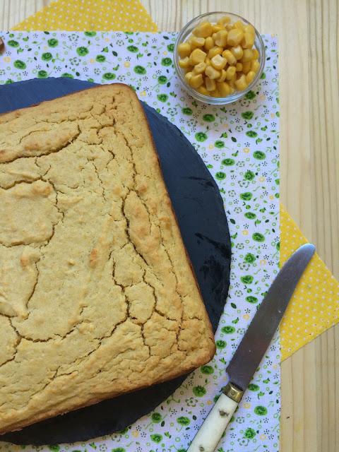 cornbread pan de maiz dulce receta