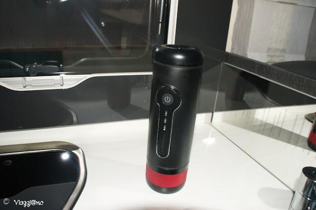 La macchina del caffè espresso a 12 volt Conqueqo
